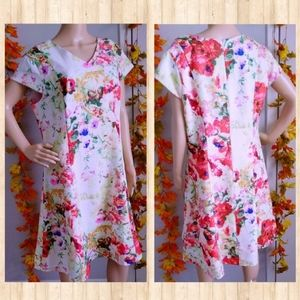 NWOT NORTH STYLE DRESS FLOWERS SPRING